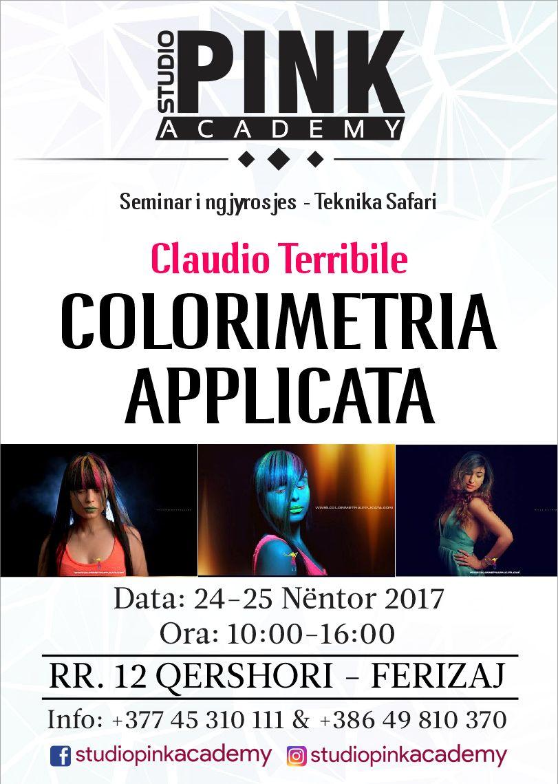 Seminario di Claudio Terribile Haircolorist in Kosovo