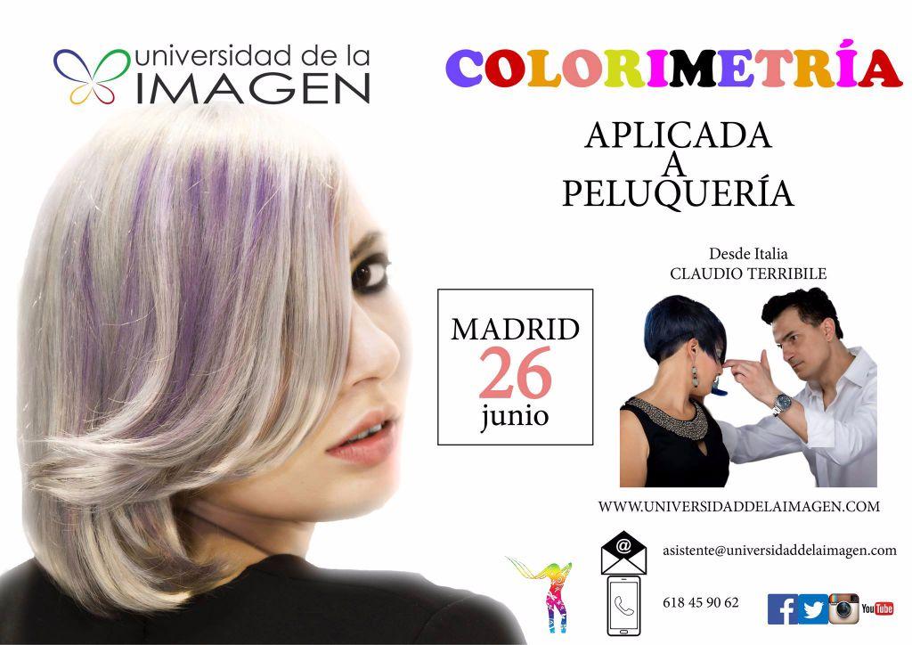 Curso de Colorimetría Aplicada en Madrid por Claudio Terribile