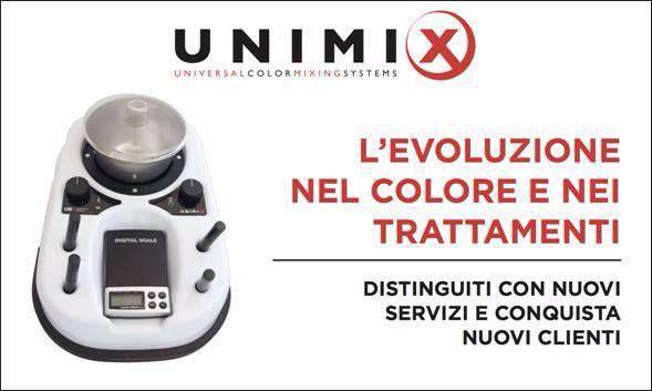 UNIMIX , pura tecnologia al servizio dell'hairdresser...