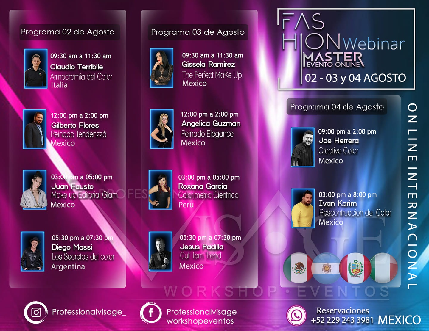 Fashion Master Webinar On-line - Bellezza